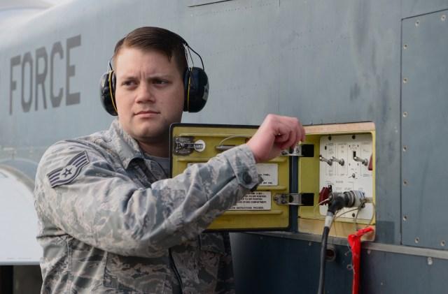 Man in Air Force uniform
